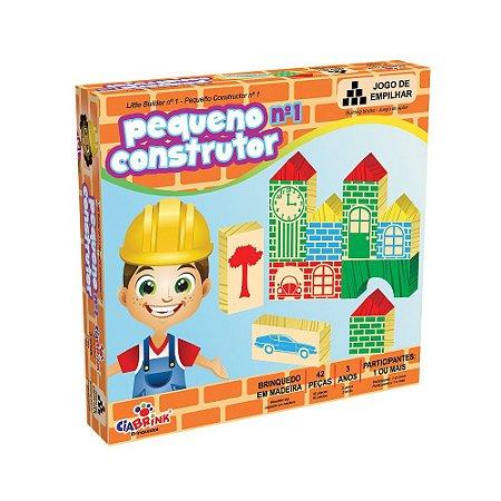 Blocos De Construir Pequeno Construtor 47 Pçs Ciabrink 1037