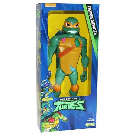 Brinquedo Figura Tartarugas Ninjas Michelangelo 30cm 2045