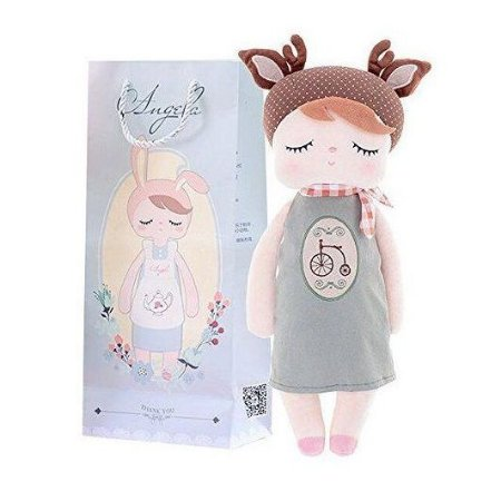 Brinquedo Boneca Pelucia Angela Doceira Retro Deer Metoo
