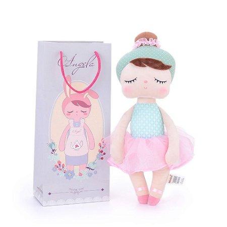 Brinquedo Boneca Pelucia Angela Lai Ballet Bup Baby Metoo
