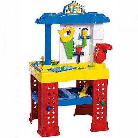 Brinquedo Bancada de Trabalho com Ferramentas Calesita 0450