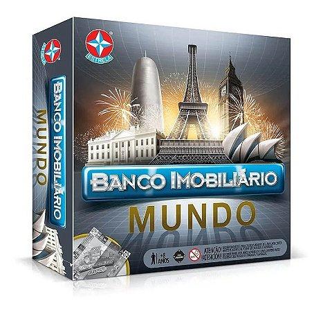 Jogo Lançamento Banco Imobiliário Mundo - Estrela