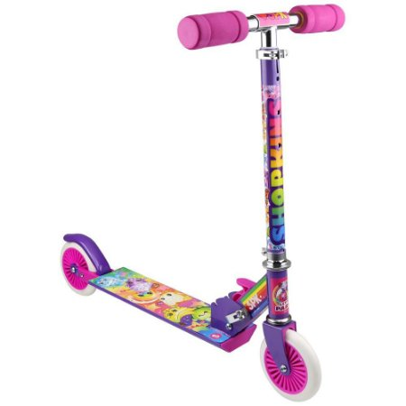 Brinquedo DTC Shopkins Patinete com 2 Rodas