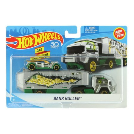 Hot Wheels Caminhões de Transporte Veiculo Bank Roller Bdw51