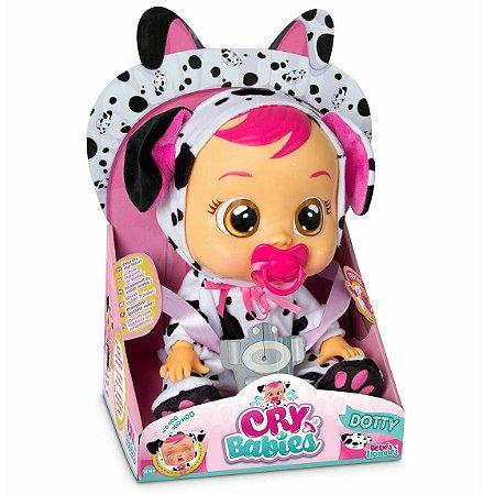Boneca Cry Babies Dotty Chora de Verdade Multikids BR054