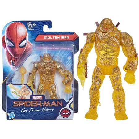 Boneco Homem Aranha Longe de Casa Elemental de Lava E3549
