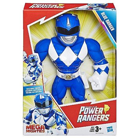 Playskool Heroes Power Rangers Mega Mighties Azul E5869