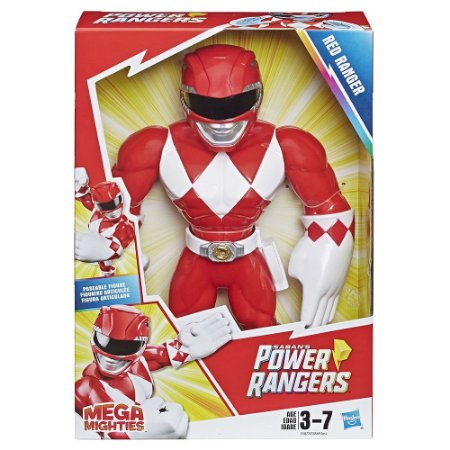 Playskool Heroes Power Rangers Mega Mighties Vermelho E5869