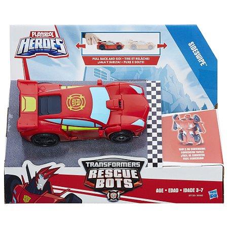 Playskool Transformers Rescue Bots Sideswipe Hasbro B5582