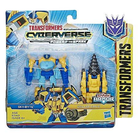 Transformers Spark Sky-Byte e Driller Drive Hasbro E4219