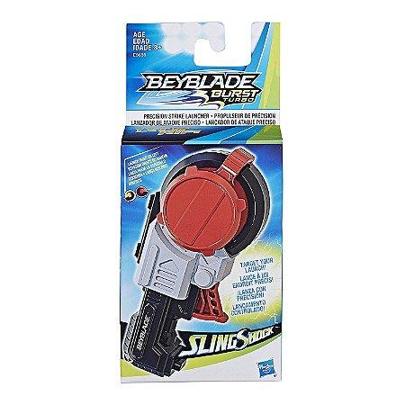 Beyblade Lançador de Ataque Preciso Slingshock Hasbro E3630