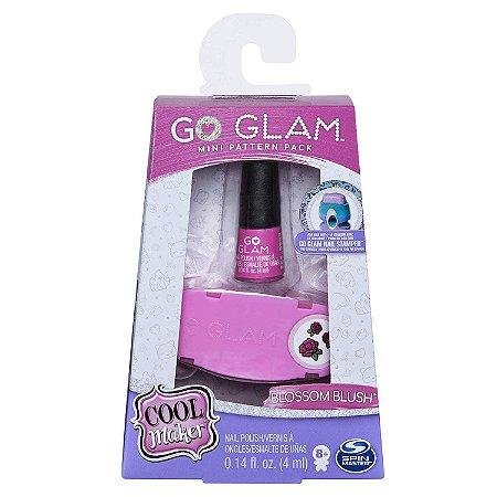 Kit Esmalte Go Glam Nail Blossom Blush Infantil Sunny 2131