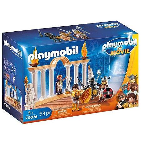 Brinquedo Playmobil O Filme Marla no Coliseu Sunny 70076