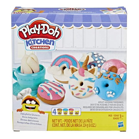 PlayDoh Kitchen Creations Rosquinhas Divertidas Hasbro E3344