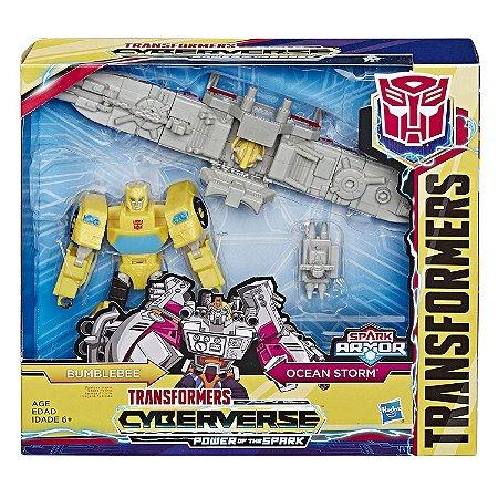 Transformers Spark Armor Bumblebee Ocean Storm Hasbro E4220