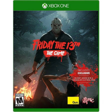 Jogo Midia Fisica Friday The 13th The Game para Xbox One