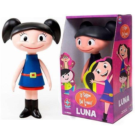 Brinquedo Boneca Luna de Vinil O Show da Luna Estrela