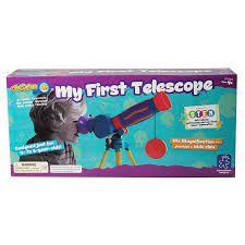 Brinquedo Meu Primeiro Telescópio  Abrakidabra E5109