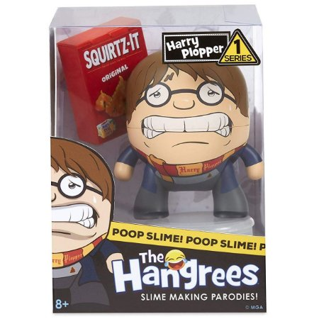 Boneco Poop Slime The Hangrees Series 1 Harry Plopper 8800