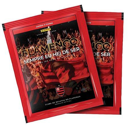 Kit com 20 Pacotes de Figurinha do Album Flamengo Panini