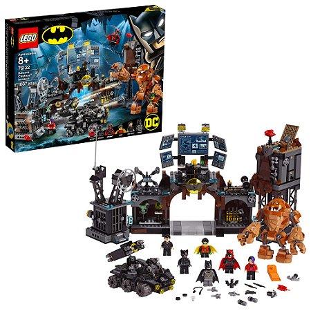 Lego DC Comics BatCaverna Invasão do Cara de Barro 76122