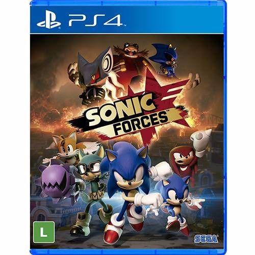 Jogo Mídia Física Sonic Forces Original Para Ps4