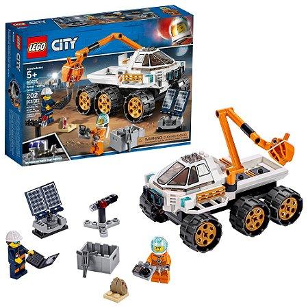 Lego City Teste de Conducao de Carro Lunar 202 Peças 60225