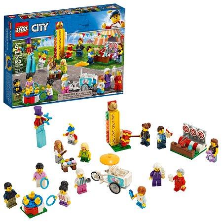 Lego City Pack Parque de Diversoes com 14 Mini Figuras 60234