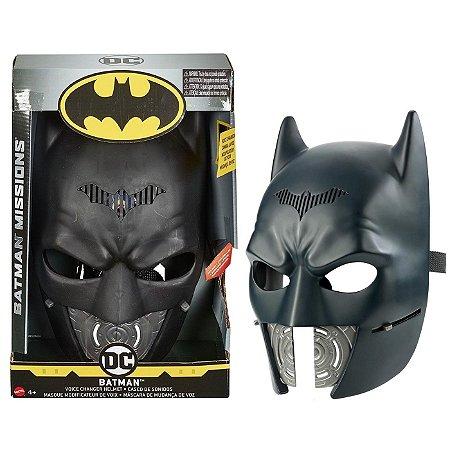 Batman Mission Mascara Eletronica Voice Changer Mattel Gdn80