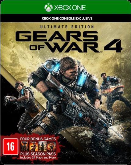 Jogo Gears Of War 4 Ultimate Edition Colecionador Xbox One
