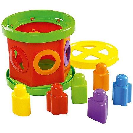 Brinquedo Gira e Brinque Pedagógico Dismat Mk296