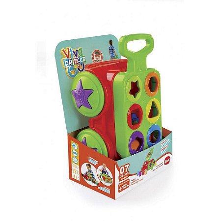 Brinquedo Infantil Carrinho Amicãozinho Dismat Mk308