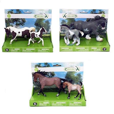 Figura Sortida Dupla De Cavalos Sortidos Set 1 Collecta