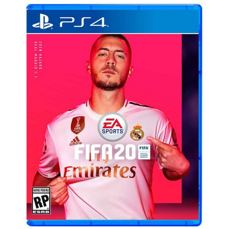 Jogo Novo Midia Fisica EA Sports Fifa 20 Original para Ps4