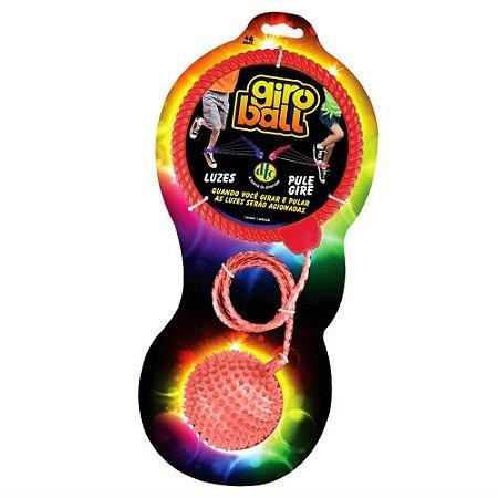 Brinquedo Novo Giroball Com Luzes Pule E Gire Cor Sortida