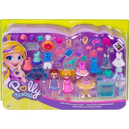 Polly Pocket Conjunto de Festas Polly e Lila Mattel Ggj53