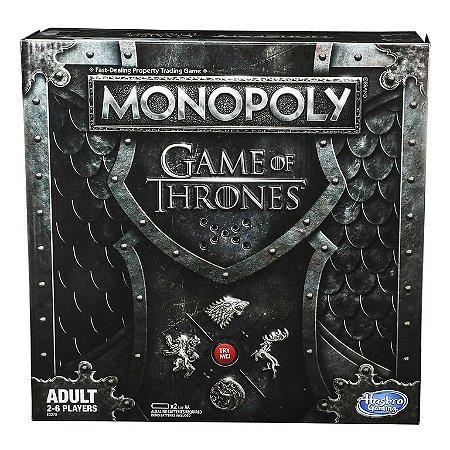 Novo Jogo Monopoly Game Of Thrones Com Som - Hasbro E3278