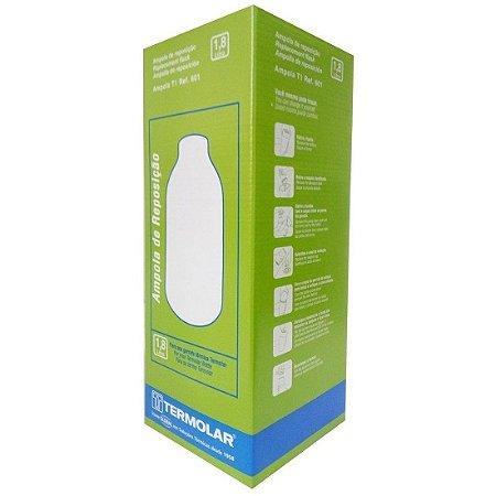 Ampola de Vidro para Garrafa Termica 1,8 Litros Termolar 601