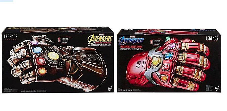 Combo Legends Series Hasbro Manopla Homem de Ferro + Thanos