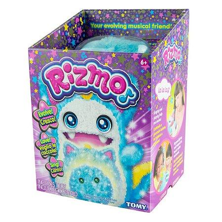 Brinquedo Pelucia Eletronica Amigo Rizmo Aqua Tomy Estrela