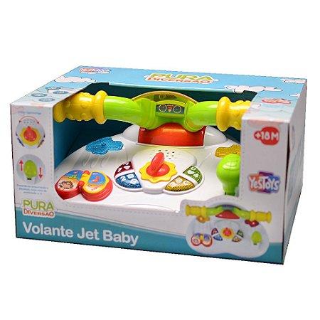 Brinquedo Volante Jet Baby Pura Diversao +18m Yes Toys 20093