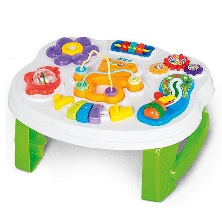 Brinquedo Infantil Mesinha Smart Table com Som Calesita 812