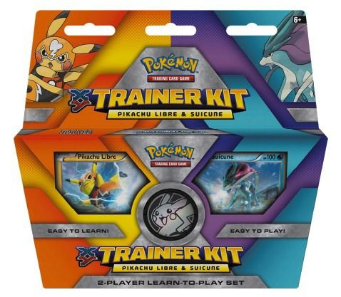 Novo Pokemon Kit Do Treinador Pikachu Mascarada E Suicine
