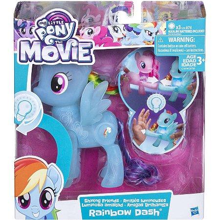 My Little Pony Rainbow Dash Amigas Brilhantes Hasbro C0720