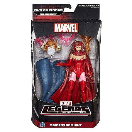 Boneco Marvel Legends Build a Figure Scarlet Witch HQ B0438