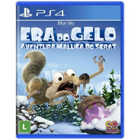 Jogo Midia Fisica Era do Gelo Aventura Maluca do Scrat Ps4