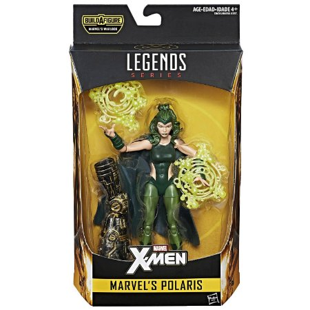 Boneco Marvel Legends Build a Figure Polaris Hasbro B8343
