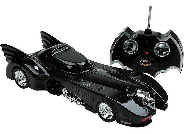 Batmovel Carro Batman Returns Rc 7 Funções Candide