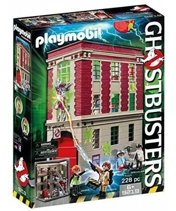 Brinquedo Playmobil Ghostbusters Quartel General 9219 228pçs