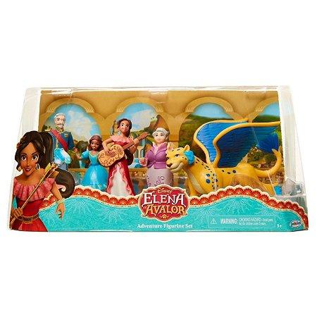 Conjunto De Bonecos Disney Elena Of Avalor Adventure 1229